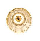 Bohemian Zwischengoldglass Flared Liqueur/Shot Glass